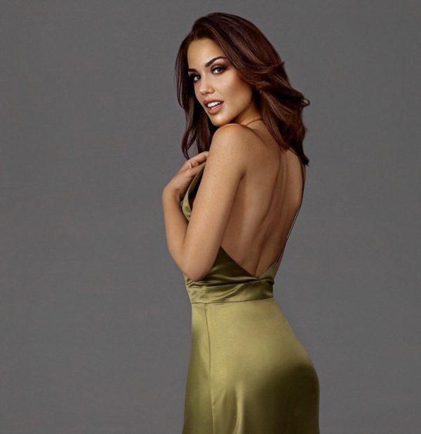 kirsiva-green-olive-dress-back